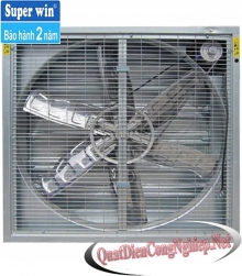 Square Ventilation Fan Wings Win Super Inox SPW 1380